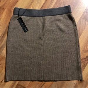 Willi Smith Ribbed Skirt
